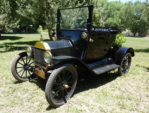 1915 Model T Couplet