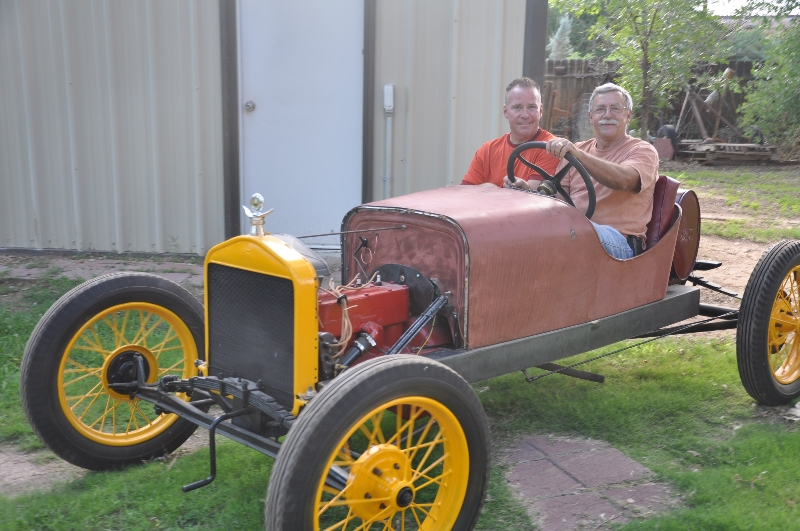 Luke and Allison Berglund (1920 Speedster)