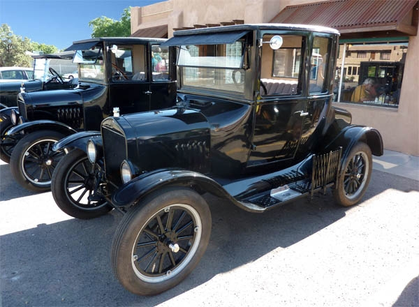 1923 Model T Coupe