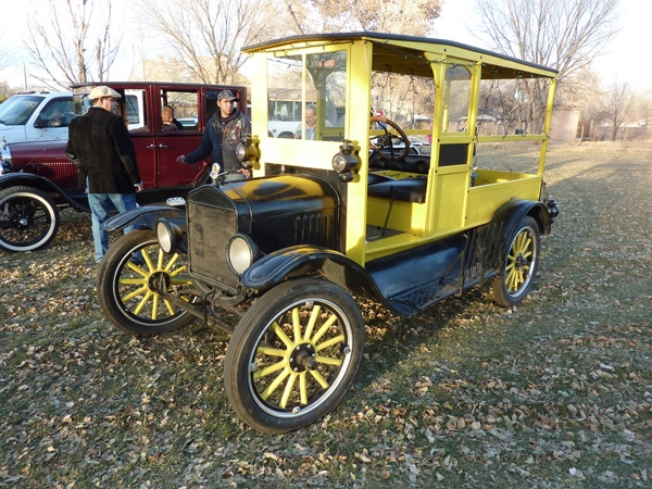 1917 Model T Fruit Wagon