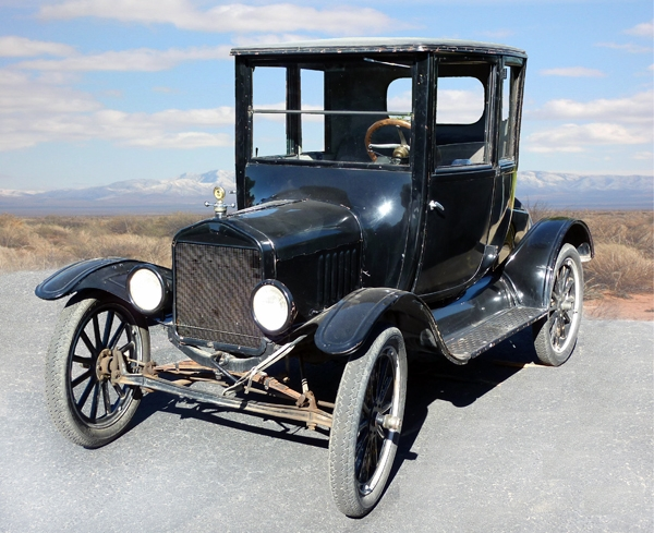 1921 Model T Coupe