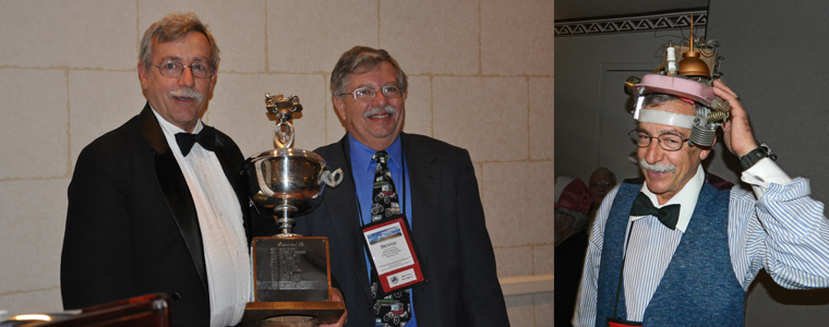 March 2013 - Dr. Larry Azevedo receives Rosenthal Award in Dallas!