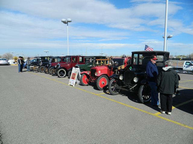 car show at rich ford march 15th 2014 tin lizzies of albuquerque. Cars Review. Best American Auto & Cars Review