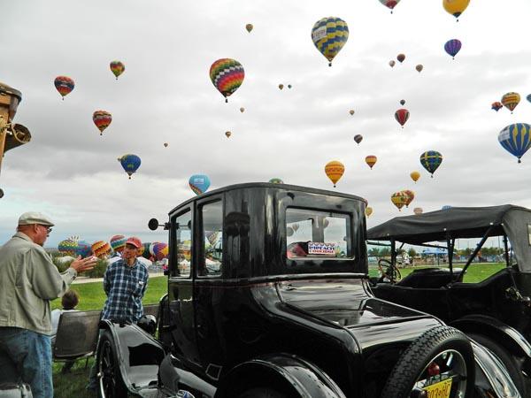 Balloon Fiesta Car Show Oct Tin Lizzies Of Albuquerque - Car show albuquerque